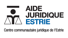 logo Aide Juridique Estrie - centre communautaire juridique de l'Estrie